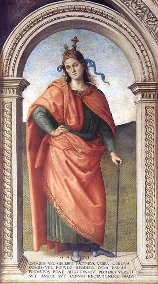 Pietro Perugino - Cato (Source: Wikimedia commons)