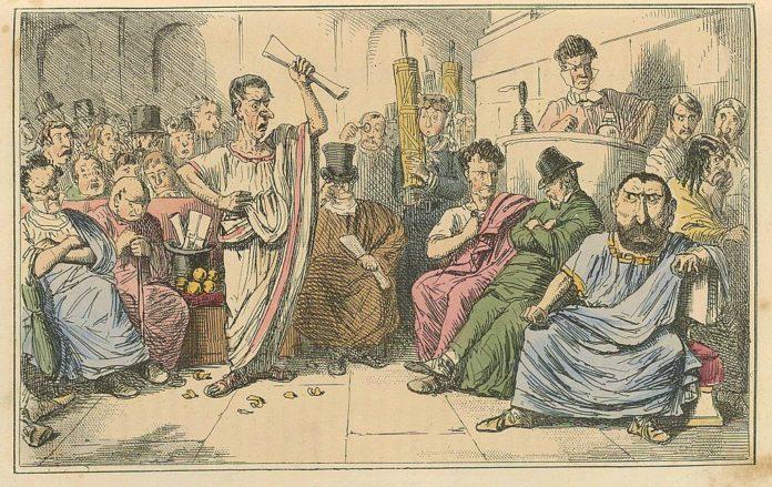 Cicero image by John Leech