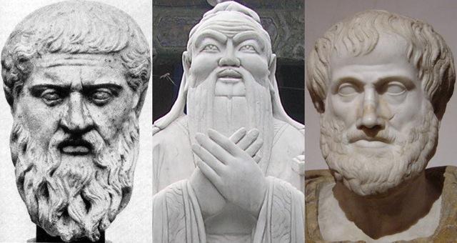 Image of Platon Confucius Aristote