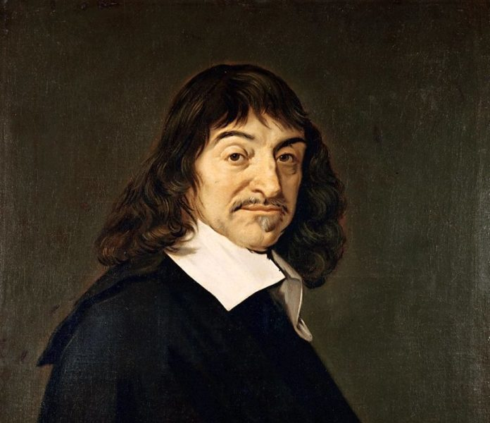 Portrait of René Descartes by Frans Hals