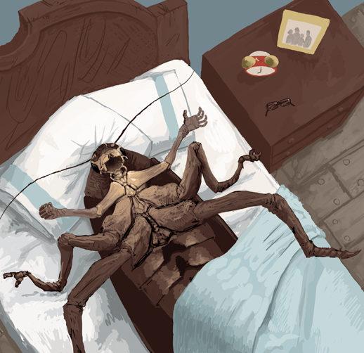 Book cover - Kafka's Metamorphosis