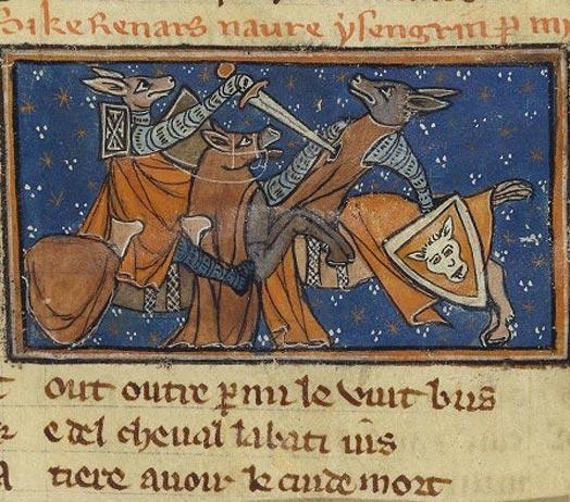 Roman de Renart (Reynard the fox)